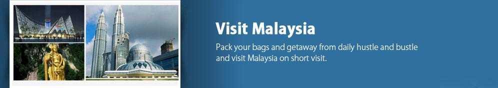 Malaysia Tourist Visas